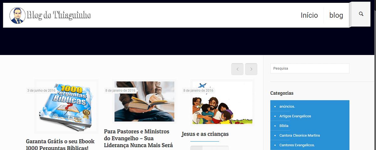 Blog do Thiaguinho